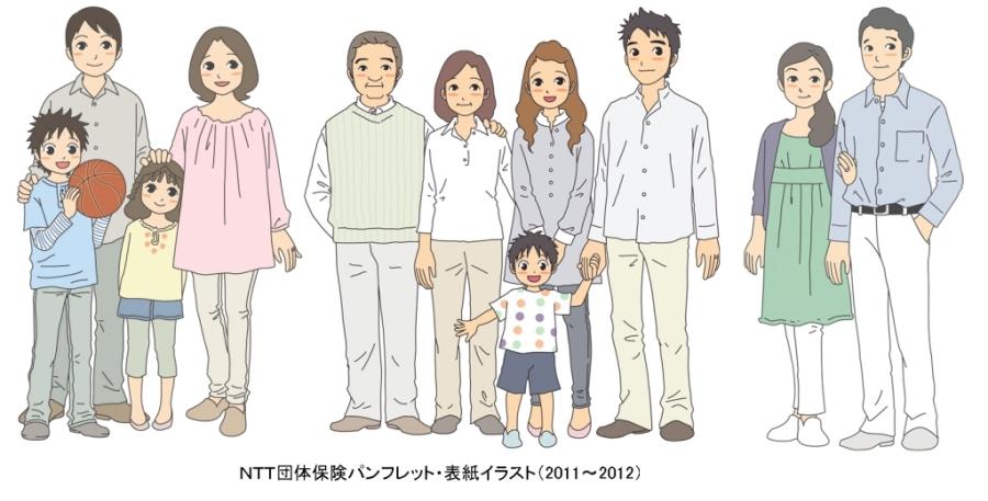 NTT団体保険キャラ